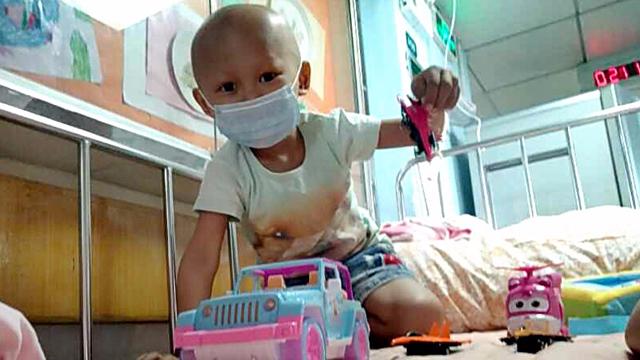 肿瘤娃面临双重危险