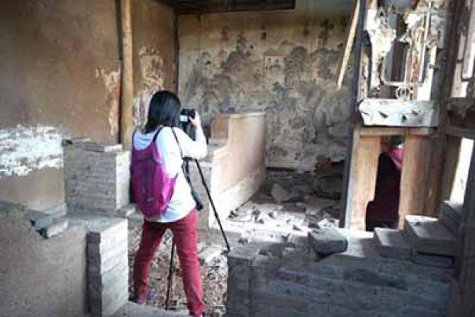 拯救古建筑,留住传统文化的余脉。